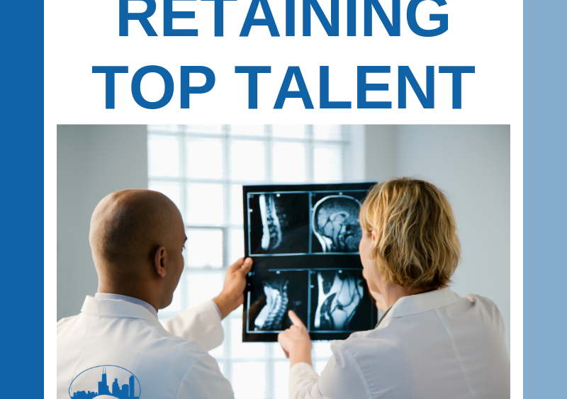 Retaining talent is the responsibility of the hiring company